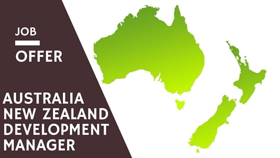 Australia New Zealand Development Manager