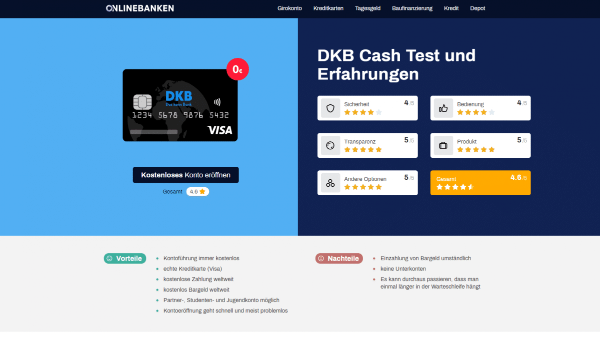 onlinebanken-screenshot